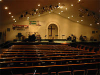 Interior view of Sanctuary New Life Worship Center Federal Heights, CO
